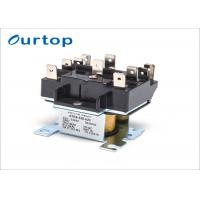 Buy cheap Air Conditioner Fan Relay Quick Connect , 2 Pole Relay Switch For Central Air Conditioner from wholesalers