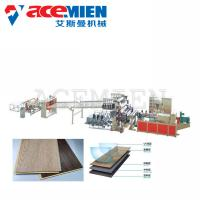 Buy cheap Flooring Plastic Sheet Making Machine , SPC Flooring Making Machine 380V from wholesalers
