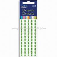 Buy cheap Mobile Phone Sticker with Rhinestones Decoration, Made of Acrylic, Fashionable Design product