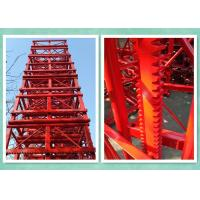 Quality Customized 650mmx650mmx1508mm Painted Mast Section For Construction Hosit for sale