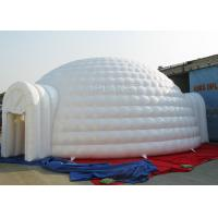 Buy cheap 10 M Sewing Inflatable Igloo Marquee 3 - 8 Minutes To Finish Inflating product
