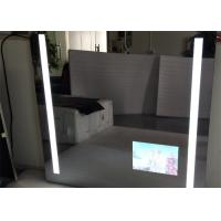 Buy cheap Rectangle Bathroom Mirror LED TV Wall Mounted 1920 X 1080 Resolution product