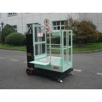 Buy cheap 200kg Rated Load Aerial Order Picker Semi Electric 4.3m For One Person Stock Picking product