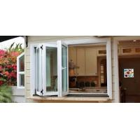 Buy cheap aluminum framed double glazed High Quality Aluminum Glass Bifold Window Folding Window product