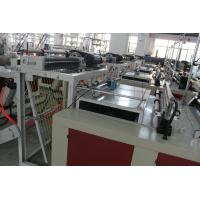Buy cheap Professional Express Bag Making Machine , Plastic Pouch Making Equipment 700kg product
