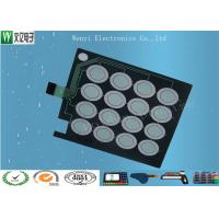 Buy cheap PET 0.125mm Base Capacitive Touch Button Circuit FPC Membrane Switch Customized product