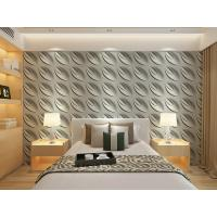 Buy cheap Contemporary Interior 3D Textured Wall Panels Home or Commercial Decoration Wallpaper product