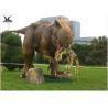Buy cheap Handmade Dinosaur Lawn Statue Length 3.5M-4M Dinosaur Realistic Model product