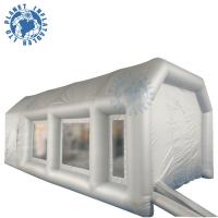Buy cheap 7 M Grey Inflatable Spray Booth Water Resistance With Storage Bag product