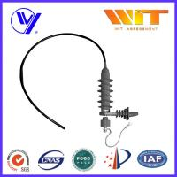 Buy cheap Polymer 42KV Transmission Line Surge Arrester for Power Transformers product