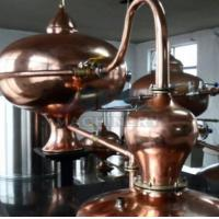 Buy cheap Home alcohol distiller, alcohol distillation equipment & Vodka,Whiskey,Gin Copper Distillery For Sale product