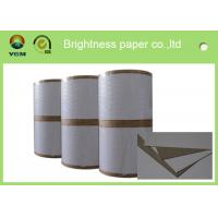Buy cheap Mixed Pulp Material Grey Back Duplex Board Paper Printing Area Applied product