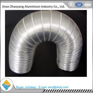 Buy cheap Aluminum Foil Semi - Rigid Corrugated Pipe / Aluminum Foil Ventilation Pipe product