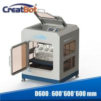 Buy cheap CreatBot D600 Pro Large Scale 3D Printer With Dual Extruders And Color Touch Screen product