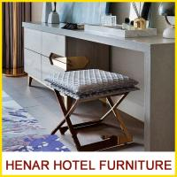 Buy cheap MDF + Veneer Material Hospitality Writing Table Chair / 4 Season Hotel Lobby Furniture product