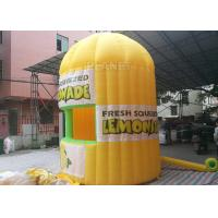 Buy cheap Lightweight Inflatable Lemonade Stand One Door And One Window Long Life Span product