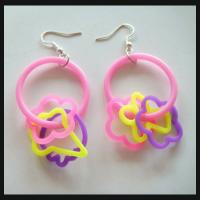 China lovely fashion  silicone earring on sale