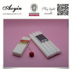 China plain 12g white decoration wax candle hot sale on sale
