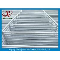 Buy cheap White PVC Coated Welded Wire Mesh Fence RAL9010 Anti-Corrosion product