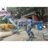 Buy cheap Indoor Display Giant Dinosaur Statue Mechanical Animatronic Realistic Dinosaurs product