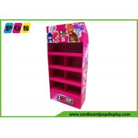 Buy cheap Promotional Portable POS Cardboard Floor Display Shelf With 4 Trays FL030 from wholesalers