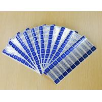 Buy cheap Custom Printing Tamper Evident Security Labels With Gloss Lamination product