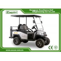 Buy cheap Silver EXCAR 48 Voltage 275A Electric Golf Car 4 Wheel Electric Golf Cart from wholesalers