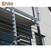 Buy cheap Hurricane - Proof Aluminum Louver Window , Security Jalousie Window product