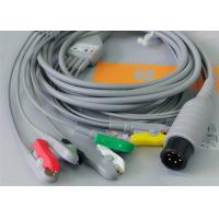 Buy cheap 5 Leads Ecg Snap Medical Cable , Medical Equipment / Medical Device Accessories product