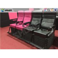 Quality Dynamic Simulator 4d Motion Theatre With Electric / Hydraulic / Pneumatic  System for sale