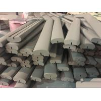 Buy cheap 45 Degree Aluminum Extrusion Parts Welding Handrail Wooden Color Surface For Vessel And Boat product