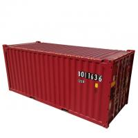 Buy cheap DNV Certificate 39.90CBM 20ft ISO Tank Container Red Color Corten - A Material product