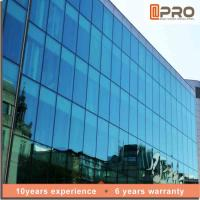 Buy cheap Explosion Proof Aluminium Curtain Wall With EPDM Gaskets And Thermal Break Sealant product