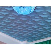 Buy cheap Ceiling 3D Wall Art PVC Wall Panels Embossed Wall Decals Modern 3D Wall Background for Sofa product