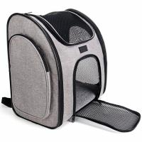 Buy cheap Ventilate Designed Collapsible Cat Carrier Bag , Airline Approved Pet Carrier Backpack product