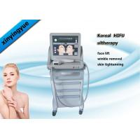 Buy cheap Permanent HIFU Machine 4.5mm Action Depth 3 Heads  , Facial Wrinkle Remover product