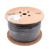 Buy cheap Category 5e FTP Ethernet cable / 24AWG cat5e lan cable Grey PVC product