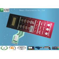 Buy cheap 2.54mm Pitch Polydome Embossing Membrane Switch ZIF Wirelead Nikto Backahesive product