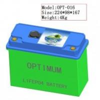Buy cheap 12V / 120Ah Grid Lithium Iron Phosphate Batteries Pack w/ 5C Peak Discharge Current product