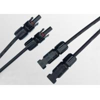 Buy cheap 2 To 1 Solar MC4 Branch Connector With PPO Waterproof IP67 CE Certification product
