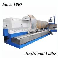 China Horizontal Metal Lathe Machine Heavy Duty For Turning 40T Weight on sale