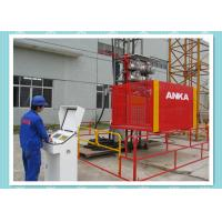 Buy cheap Rack And Pinion Construction Material Hoist With 2000kg Capacity , CE Approved product