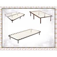 Buy cheap Wooden Slat Bed Frame 8 Legs Queen/Full/King from wholesalers