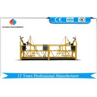 Quality 800KG Painted / Aluminum Suspended Access Platforms Motor Power 1.8KW Scaffold Platform for sale
