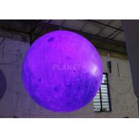 Buy cheap Party Inflatable Lighting Decoration , Inflatable Moon Balloon OEM Available product