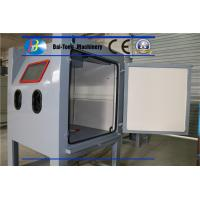 Buy cheap Air Pressure 0.3 - 0.7MPa Sand Blast Cabinet Bags Type Dust Collecting product