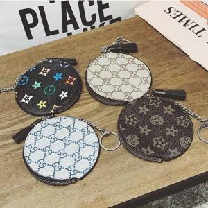 e0709a71d6d Buy cheap LV Gucci Coin purses mini round bag keychain change purse with  chain card holder