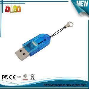 China Mini USB 2.0 Micro SD/TF Memory Card Reader Writer (C-384) on sale