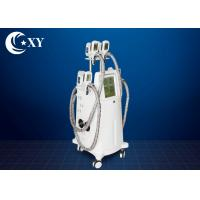 Buy cheap 4 Treatment Heads Cryolipolysis Slimming Machine 220V / 110V For Beauty Salon from wholesalers