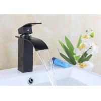 Buy cheap Zinc Alloy Single Handle Waterfall Bathroom Faucet Easy Install ROVATE product